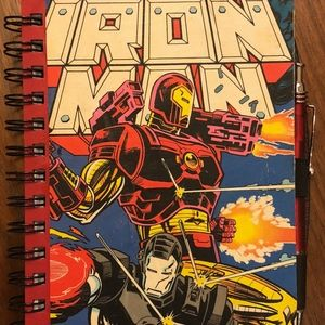 Other - Iron Man Comic Notebook